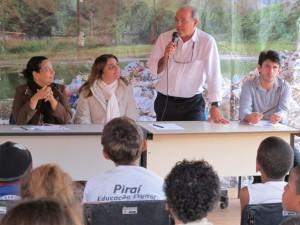 O representante da Lightger José Renato Lavourinhas reafirma o compromisso do empreendimento com a população local.
