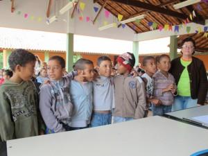 Os alunos da professora Cida, do 2º ano, foram os grandes vencedores da Gincana.
